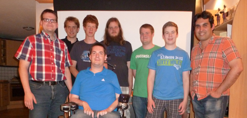 Vizemeister der Bezirksliga! Auf dem Foto fehlen Daniel und Dirk B.